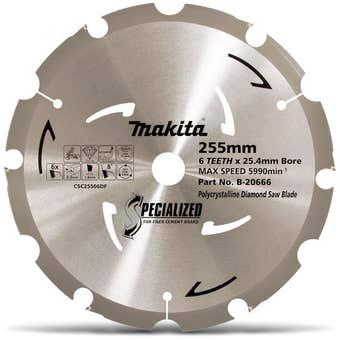 Makita Circular Saw Blade Specialized for Fibre Cement