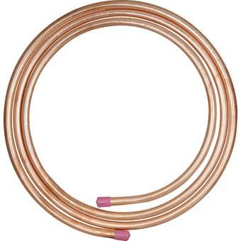 "Brasshards Copper Tube Type B Annealed 3/4"" 19.05 x 1.02 3m Coil"