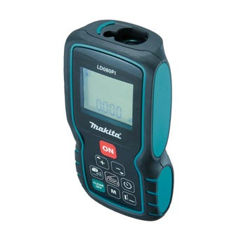 Makita Incline Sensor Laser Distance Measurer 80m