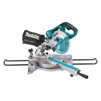 "Makita 36V (18V x 2) Brushless Slide Compound Saw 190mm (7-1/2"") Skin"