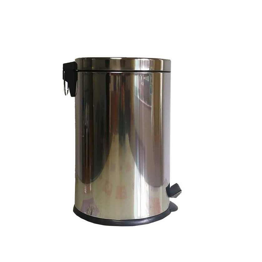 Queen Pedal Bin Stainless Steel 20 Litre