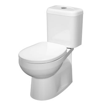Stylus Prima II Close Coupled Toilet Suite Bottom Inlet P Trap