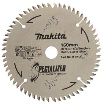 Makita Circular Saw Blade Specialized for Laminate