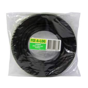 FIX-A-LOO Rubber Pan Collar 100mm