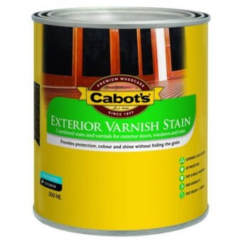 Cabot's Exterior Varnish Stain