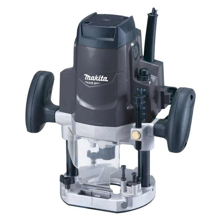 Makita MT 1650W Plunge Router 12.7mm