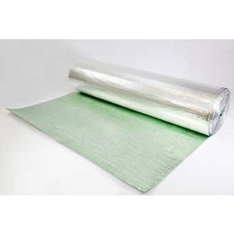 GI Building Sciences Reflecta Shed Plus Insulation 4mm 1.5 x 30m 45m²