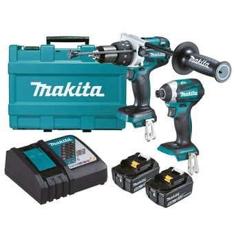 Makita 18V 5.0Ah Brushless Combo Kit - 2 Piece DLX2176T