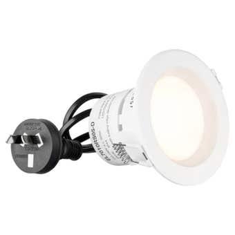 HPM DLI LED Downlight Warm White White 5W 70mm