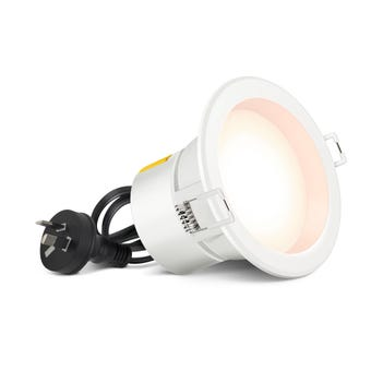HPM DLI LED Downlight Cut Out Warm White 7W 90mm