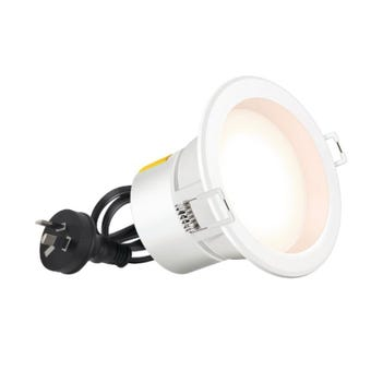 HPM DLI LED Downlight Cool White White 7W 90mm