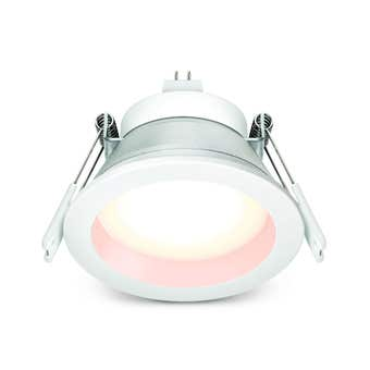 HPM MR16 8W LED Downlight 70mm Cut Out Warm White Finish