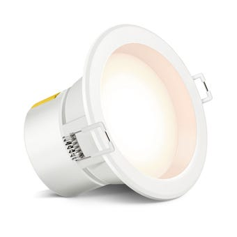 HPM DLI LED Downlight Non Dimmable Warm White 7W 90mm