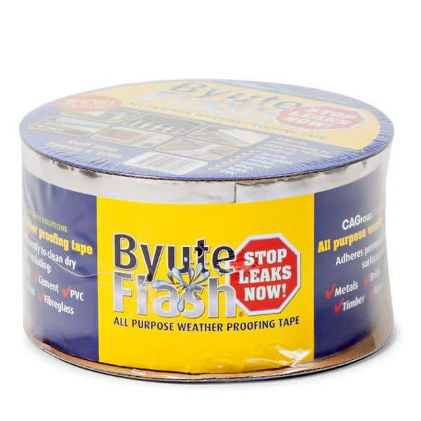 Byute Flash Weatherproof Tape 75mm x 10m