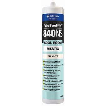 H.B. Fuller Fulaseal Pro 840NS Cool Room Mastic Off White 460g