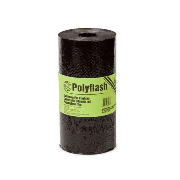 Polyflash Bitumen Coated Aluminium Foil Core 150mm x 10m