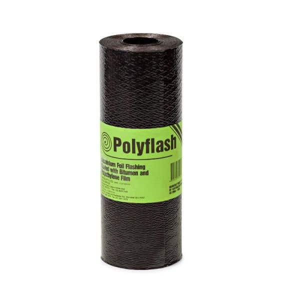 Polyflash Bitumen Coated Aluminium Foil Core 230mm x 10m