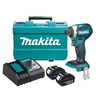 Makita 18V 3.0Ah Impact Driver Combo Kit Brushless DTD154RFE