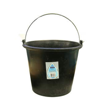 Queen Concreters Rubber Bucket 14L