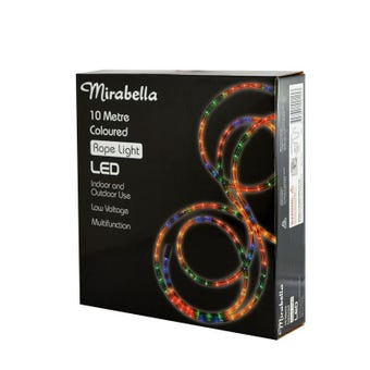 Mirabella LED Coloured Rope Light 10M