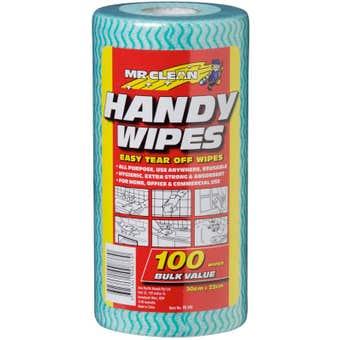 Mr Clean Handy Wipes - 100 Pack