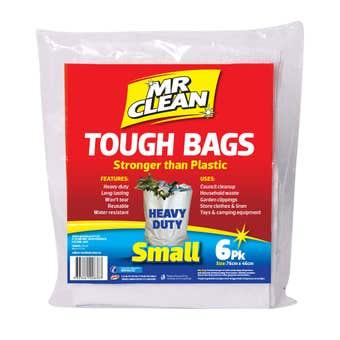 Mr Clean Tough Bag Small - 6 Pack
