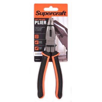 Supercraft Plier Bent Long Nose 200mm
