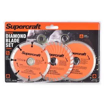 Supercraft Blade Diamond 3 Piece Set