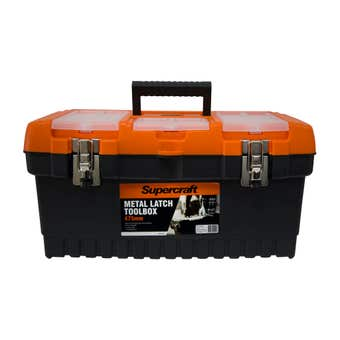 Supercraft Toolbox with Metal Latch 475mm