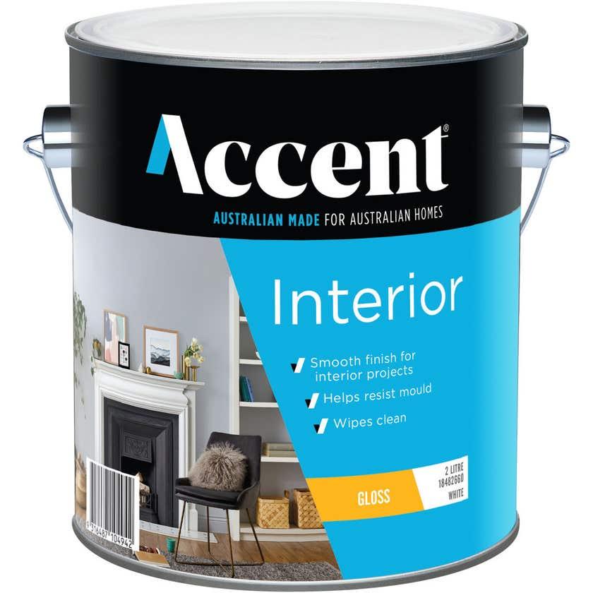 Accent Interior Gloss White 2L