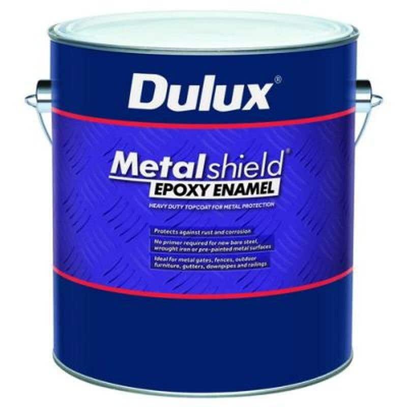 Protective Coatings Metalshield Epoxy Gloss Black 1L
