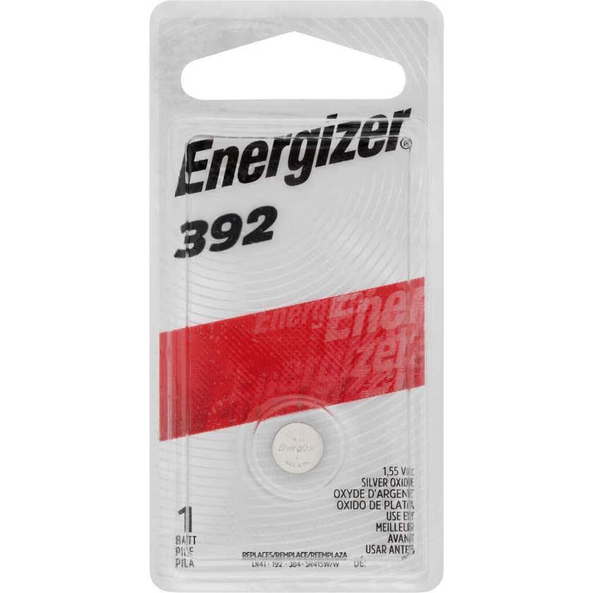 Energizer Watch Battery 392 1.5V - 1 Pack