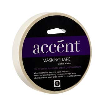 Accent Masking Tape 24mm x 50m