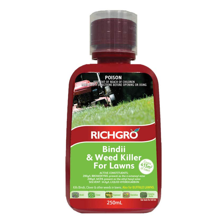 Herbicide Bindii & Weed Killer For Lawns 250ml