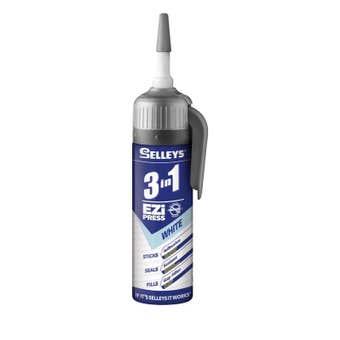 Selleys 3-In-1 Ezi Press White 150g