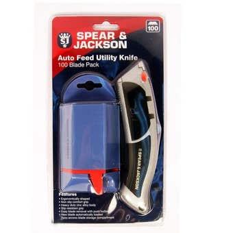 Spear & Jackson 100 Blades Utility Knife
