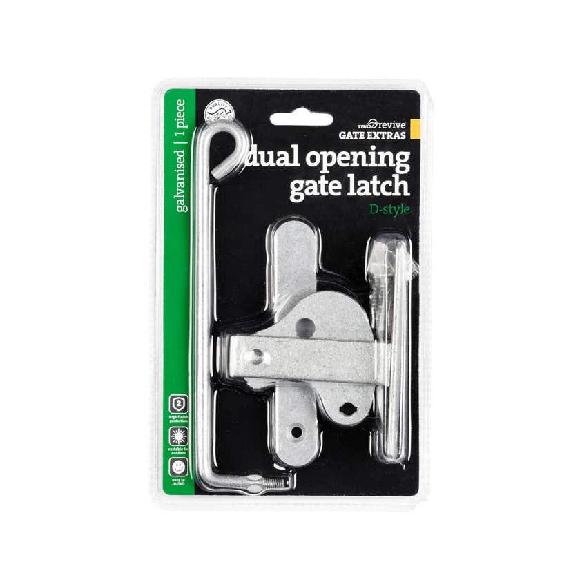 Trio D Type Dual Gate Latch Galvanised