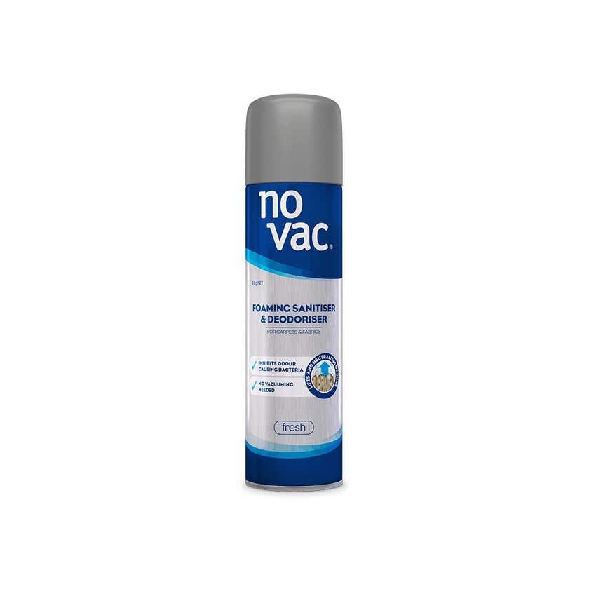 No Vac Professional Fresh Carpet Sanitiser & Deodoriser 418g
