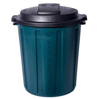 Willow Bin Garbage Green Plastic 60L