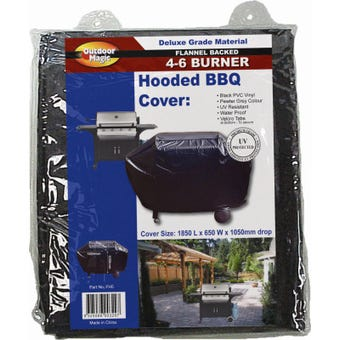 Flannel 6B Hooded BBQ Cover