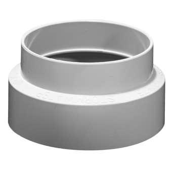 Holman Stormwater Reducer Coupling PVC 90 x 75mm