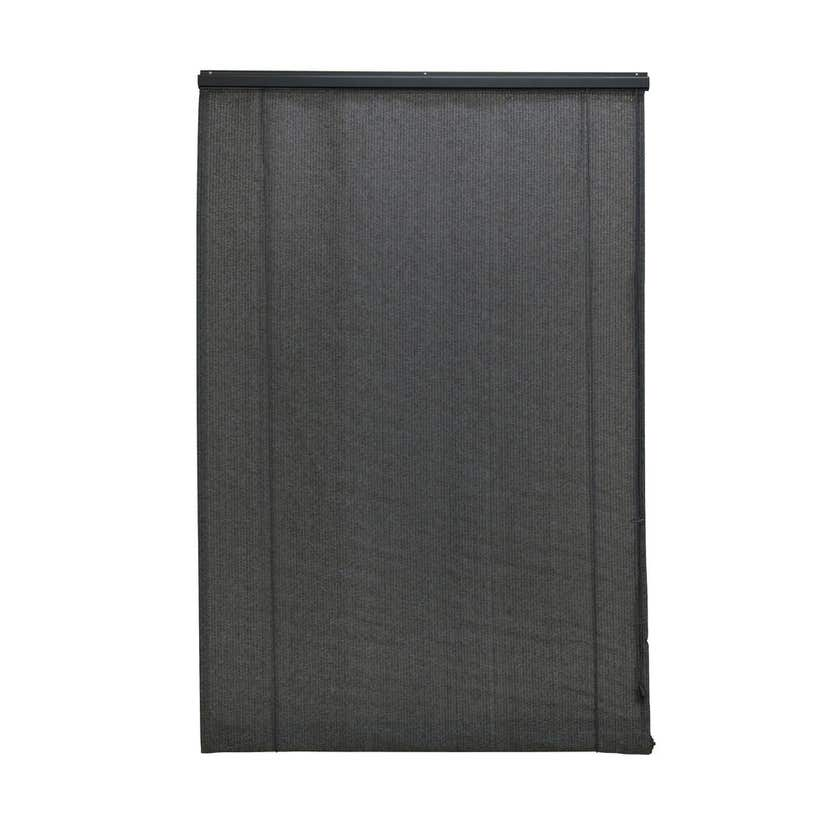 Coolaroo Roll Up Blind Charcoal 1.2 x 2.1m