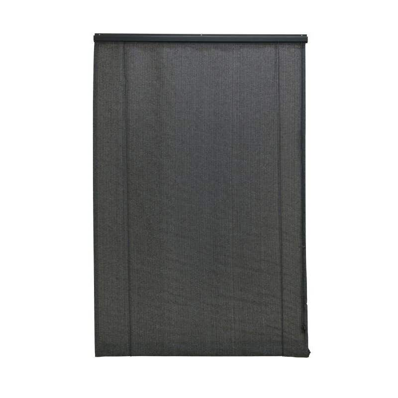 Coolaroo Roll Up Blinds Charcoal 1.8 x 2.1m