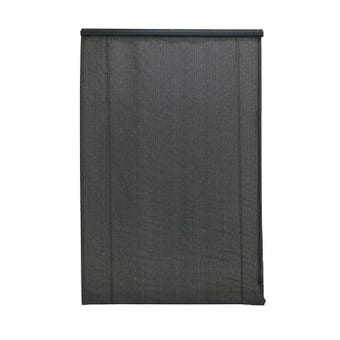 Coolaroo Roll Up Blinds Charcoal 2.4 x 2.1m