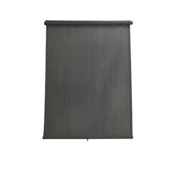 Coolaroo Retractable Blinds Charcoal 1.5 x 2.1m