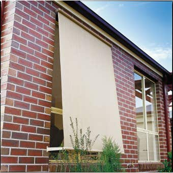 Coolaroo Retractable Blinds Shell 2.1 x 2.1m