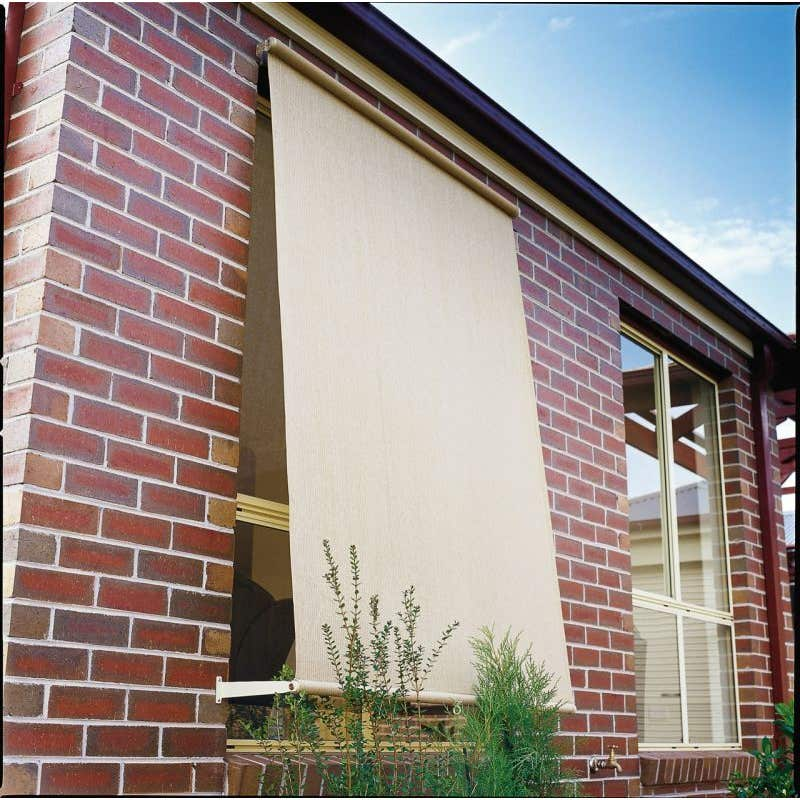 Coolaroo Retractable Blinds Shell 2.4 x 2.1m