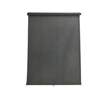 Coolaroo Retractable Blinds Charcoal 2.4 x 2.1m