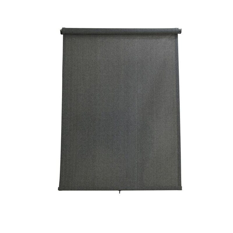 Coolaroo Retractable Blinds Charcoal 2.4 x 2.1m