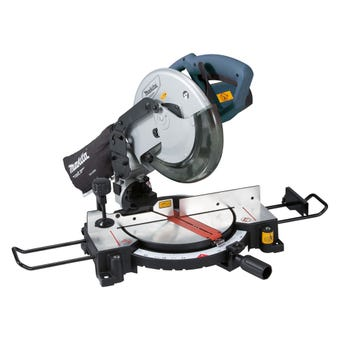 "Makita MT 1500W Compound Mitre Saw 255mm (10"")"